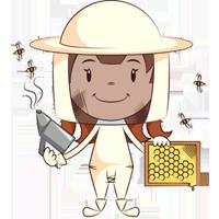 خانم زنبوردار نقاشی